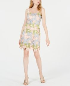 Laundry by Shelli Segal Sheath Dress - Blush/Sage/Blue Special Occasion Outfits, Laundry By Shelli Segal, Plus Size Activewear, Review Dresses, Jeans Dress, Baby Clothes Shops, Trendy Plus Size, Juicy Couture, Sheath Dress