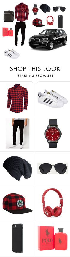 """""""FOR lunch"""" by esii-li ❤ liked on Polyvore featuring adidas, Dr. Denim, Ted Baker, Black, Bally, Aéropostale, Beats by Dr. Dre, Incase, Ralph Lauren and Armani Jeans"""