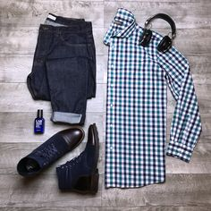 Combinación Casual Tops, Men Casual, Gq Style, Mens Attire, Outfit Grid, Mens Style Guide, Men's Fashion, Stylish Men, Fashion Advice
