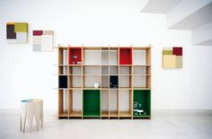 Contemporary Furniture :: Storage Furniture :: Zanotta - 734 Level -