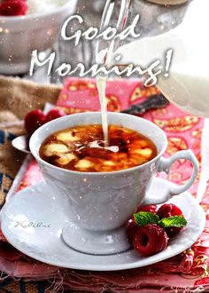 Looking for for inspiration for good morning coffee?Browse around this website for unique good morning coffee ideas. These amuzing pictures will make you happy. Good Morning Gift, Good Morning Coffee Images, Good Morning Friday, Good Morning Picture, Good Morning Flowers, Good Morning Messages, Good Morning Greetings, Morning Pictures, Good Morning Quotes