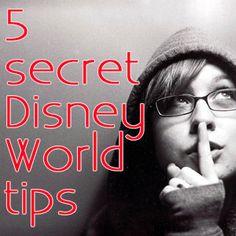 5 secret Disney World tips - PREP025