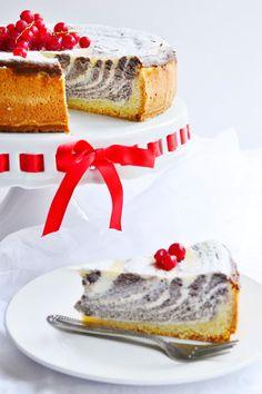 Jemný makový koláč s tvarohom a citrónovým nádychom 8