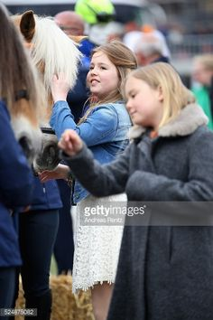 Princess Alexia and Princess Ariane seen during King's Day in Zwolle 2016