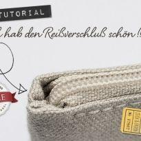 Anleitung Reißverschluß einnähen ohne Knubbel von Stich & Faden, Teil 5