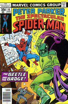 The Spectacular Spider-Man vol 1 #16 ft. The Beetle