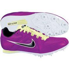 Womens Nike Zoom Rival S7 Sprinters Track Spikes Size 10 Green /Dark Gray # Nike #SprintersTrackSpikes   Scoobies Sports Shoes   Pinterest   Fields,  Track ...