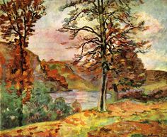Landscape by @art_guillaumin #impressionism