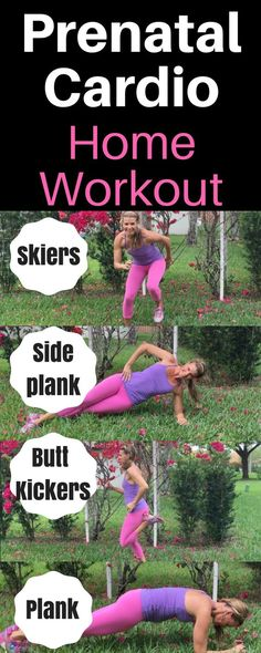 Quick prenatal cardio home workout with no equipment needed. Cardio is great for pregnant women and this is a safe prenatal cardio workout. * Visit the image link for more details. #PregnancyDiet