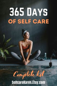 365 days of self-care: Improve your life, your work, relationships with the help of my self-care kit. 365 days of well-being help put together in a unique guide. This kit is designed to enhance your self-care, self-love, well-being and help you grow. The guide is designed to offer you help for a whole year, but you can start your 365 days at any point. #365daychallenge #selfcareeveryday #selfcareideas #newyearnewme