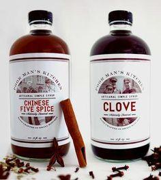 Clove & Five Spice Syrup Set