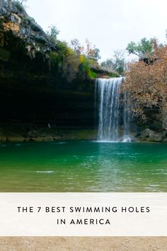 Remember the exhilaration of the rope swing, the wind through your hair as you leapt into the frigid water, the tingly thrill as onlookers cheered you on? If you're anything like us, swimming holes are one of your favorite summer pastimes--which is why we rounded up seven of the best natural pools in the country. What're you waiting for? Take the plunge.