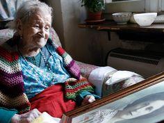 Emma, la mujer más anciana de Europa, desvela su secreto para llegar a los 116 años