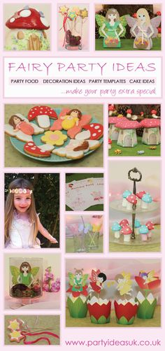 Fairy Party Theme, party ideas for Fairy Party