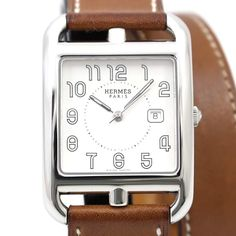 Buy your cape cod watch Hermès on Vestiaire Collective, the luxury consignment store online. Second-hand Cape cod watch Hermès Silver in Steel available. Hermes Watch, Hermes Paris, Cape Cod, Luxury Consignment, Women Accessories, Steel, Watches, Silver, Stuff To Buy