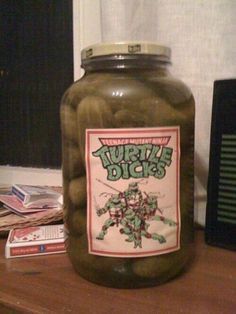 cowabunga! Ill never eat a pickle without laughing again!!!