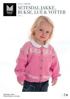 Kvalitet fra naturen siden 1879. Vi ønsker å inspirere deg – både med flott design og fantastiske garnkvaliteter. Dale Garn er din garanti for kvalitet og faglig kompetanse. Jumpers, Knit Crochet, Knitting, Pattern, Sweaters, Women, Fashion, Tunic, Threading