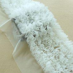 Ruffle Fabric, Chiffon Ruffle, Tulle Lace, Ruffles, Baby Tutu Dresses, Puffy Dresses, Beaded Trim, Lace Trim, Ruffle Trim