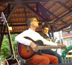 Flavio e Yuri no Grito Rock Trombudo Central Foto: Kathia Mariane Fehsenfeld