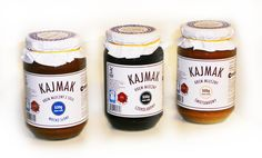 KAJMAK -Masa Kajmakowa w trzech smakach -3x530g