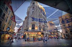 Calles del Carmen y Preciados in #Madrid. More information here: http://www.spainandtravel.com/category/spain-cities/madrid/