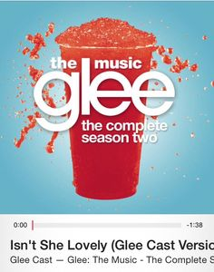Isn't She Lovely by the Glee Cast