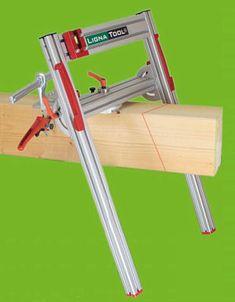 Lignatool Timber Cutting Guide for Chainsaws - TimberTools.com