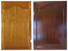 Gel Staining Kitchen Cabinets Instructions Using The Gel Stain We Also Used  For The Woodwork In Part 65