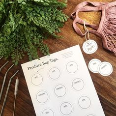 Printables to keep you organised Date, Printable Tags, Printables, Three Dots, Produce Bags, Free Design, Digital Prints, Place Card Holders, Organization