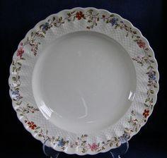 Copeland Spode Wicker Dale English Ironstone Dinner Plate