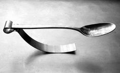 Spoon machine - Inspired by indecision about whether or where to set a spoon after stirring coffee.