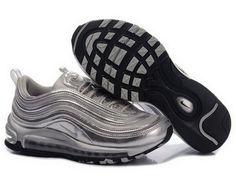 c6e37f2d8adae Nike Air Max 97 cheap Premium - shoe Premium with band for women silver  grey HOT