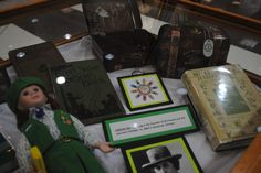 Texas Woman's University Libraries, Girl Scouts Exhibit, Summer 2012.  Photographic credit to Brita Stewart.