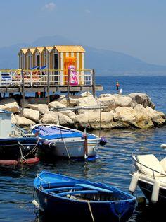 sorrento marina grande, province of Naples , Campania region Italy