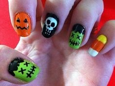 Halloween Nail Ideas | Things Every College Girl Should Know