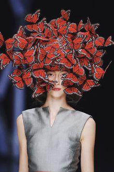 """skaodi: """" Alana Zimmer at Alexander McQueen Spring/Summer 2008. """""""