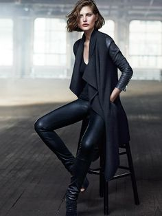 Catherine by Lachlan - Australian model Catherine McNeil is starring the resort 2014 campaign of label Donna Karan.