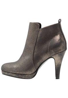 a8ea8d4f7da Anna Field Plateau Ankle Boots Damen - Stiefeletten mit Absatz in Gold