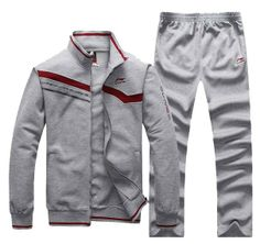 NEW sports 2012 hoodies!Fashion sport suit/Spring summer long sleeved T shirt + trousers/5 colors/man coat/Free shipping99-in Hoodies & Sweatshirts from Apparel & Accessories on Aliexpress.com