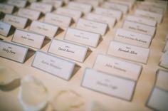 chic escort card table  Photo: C&I Studios