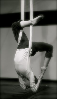 Aerial yoga, I'm going in March!