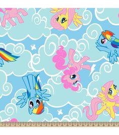 Hasbro® My Little Pony® Cloud Toss Fleece Fabric