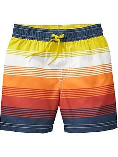 Striped Swim Trunks for my Andersen | Old Navy $13