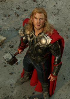 Thor-even though you're wearing a silly suit, you're still attractive and I accept your marriage proposal.
