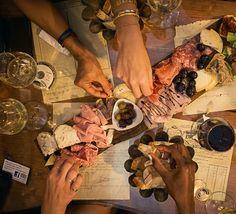 #friendship #foodies #italy #ham #wine #foodporn