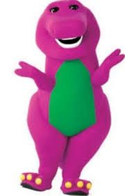 Barney the dinosaur knitting pattern