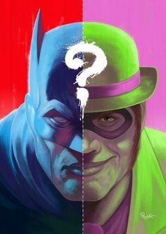 Batman/Riddler by Joel Poischen