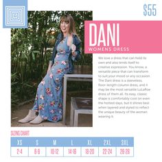 LuLaRoe Dani Dress-My box of Dani's, the tank dress, have finally arrived! I had to try them on in multiple sizes to figure out exactly which size and fabric I liked best. So, let's get down to it. Here's my honest review of the LuLaRoe Dani Dress!