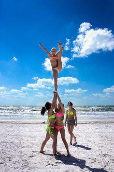 cheer stunt | Tumblr