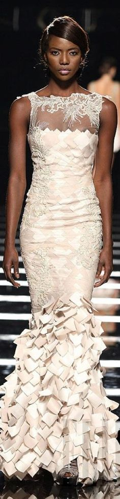 Tony Ward TNT evening gown